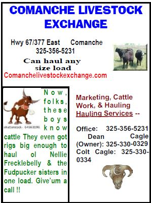 Comanche Livestock Exchange